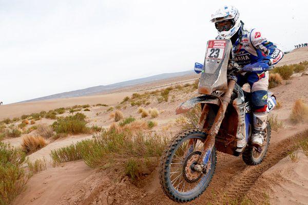 Le pilote Moulinois Xavier De Soultrait s'est blessé le 14 janvier 2018 lors de la 8ème étape du Dakar 2018