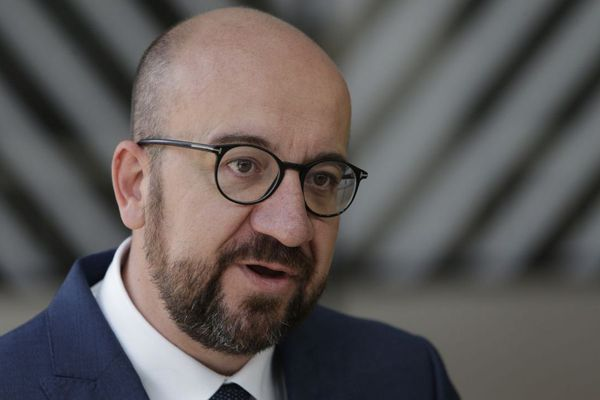 Le Premier ministre démissionnaire Charles Michel, lors d'un sommet européen à Bruxelles le 21 juin.