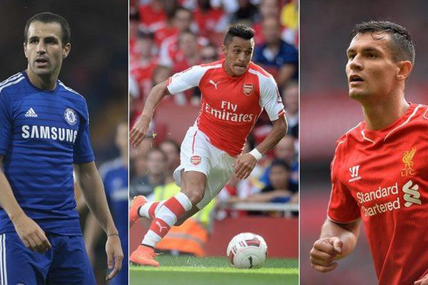 Fabregas (Chelsea), Sanchez (Arsenal) et Lovren (Liverpool) visent tous le titre de champion d'Angleterre.