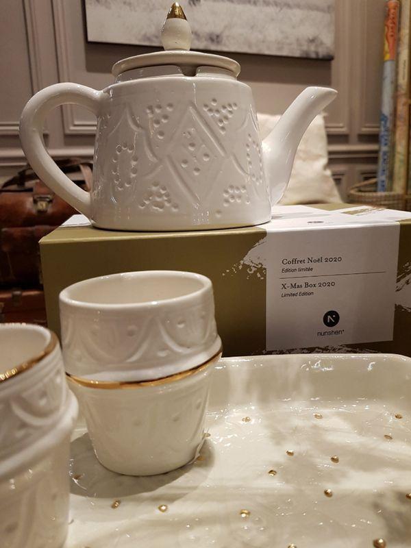 Service à thé de Marrakech
