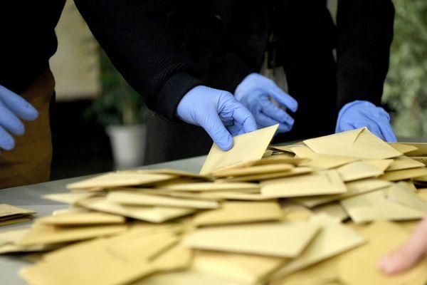 Un dépouillement de vote à Auxerre - Photo d'illustration