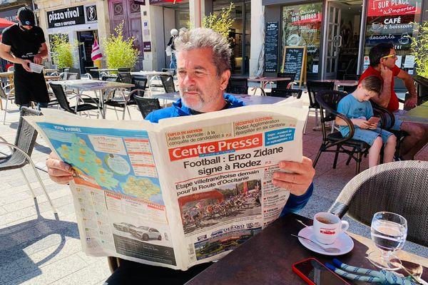 Rodez - Enzo Zidane débarque en Aveyron, l'affaire fait grand bruit - 10 juin 2021.