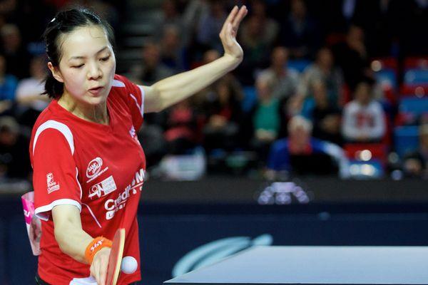 Jia Nan Yuan au championnat de France en 2015.