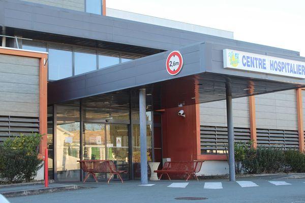 Le centre hospitalier de Jonzac, où Joël Le Scouarnec exerçait lorsqu'il a été arrêté.