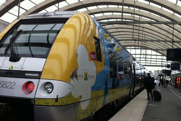 Tout est normal ce matin en gare de Reims