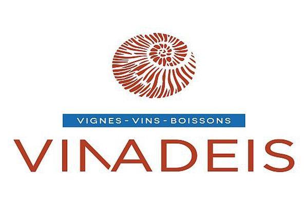 Logo de Vinadeis, ex Val d'Orbieu, basé à Narbonne, 1er groupe coopératif viticole du Languedoc-Roussillon - 2015