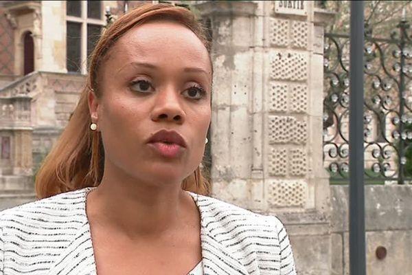 Béatrice Odunlami, adjointe au maire d'Orléans - octobre 2017