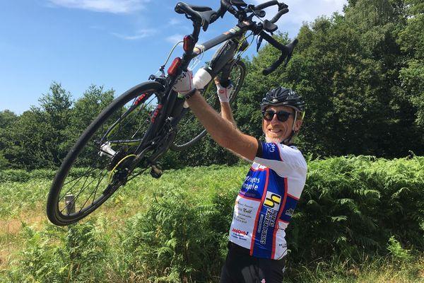 Après un périple de 4300 km, Frédéric Laforge est arrivé au bout de l'Europe.