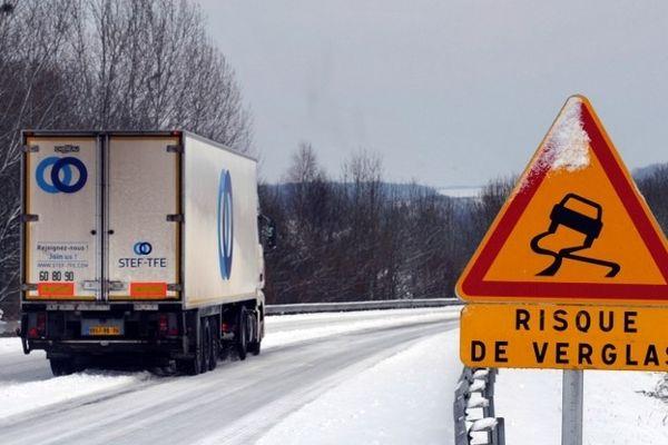 De la neige et du verglas sont attendus en Seine-Maritime.