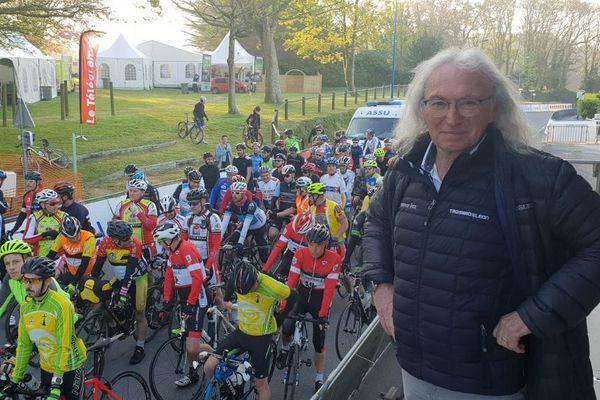 Jean-Paul Mellouët organisateur du Tro Bro Léon, sur le Tro Bro Cyclo