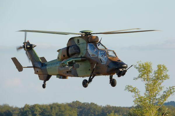 Le célèbre hélicoptère Tigre
