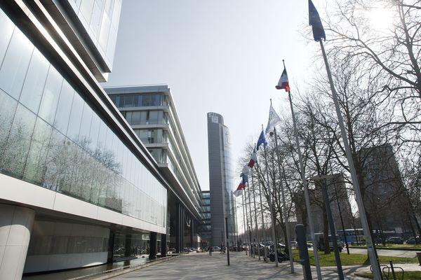 Le siège du conseil régional des Hauts-de-France à Lille. Photo d'illustration.