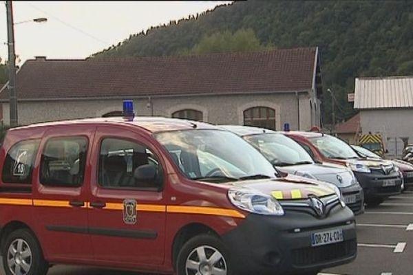 La pompier volontaire tuée dans l'accident appartenait au centre de secours de Saint-Hippolyte (Doubs)