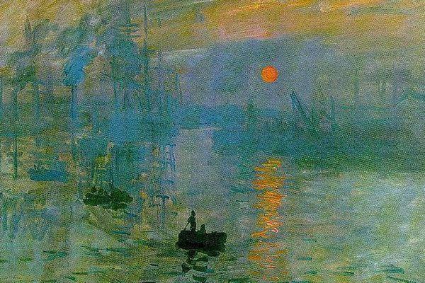 """Retour au Havre, une première, pour """"impression soleil levant""""."""