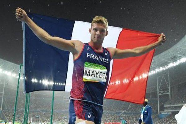 Le décathlonien montpelliérain Kevin Mayer 2e du décathlon à Rio - 19 août 2016
