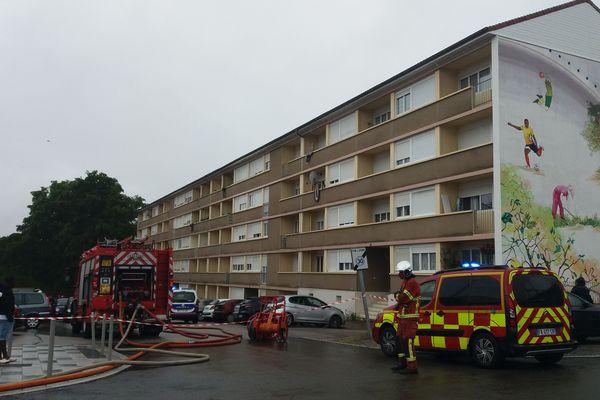Importante fuite de gaz à Limoges suite à une canalisation sectionnée