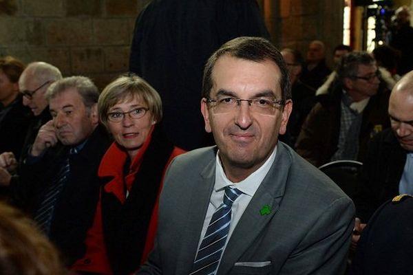 François Brière a été élu maire de Saint-Lô lors des dernières élections municipales.