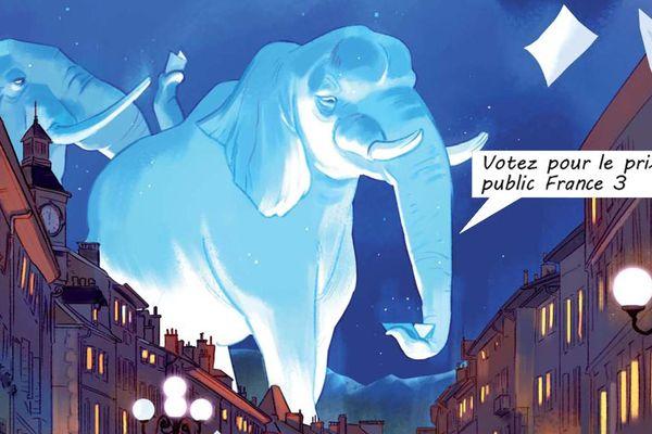 L'affiche du 43e festival Chambéry Savoie BD