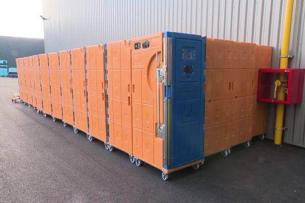 """Roche la Molière (Loire) : les containers """"autonomes"""" de cette entreprise seraient parfaits pour assurer le transport de certains vaccins"""