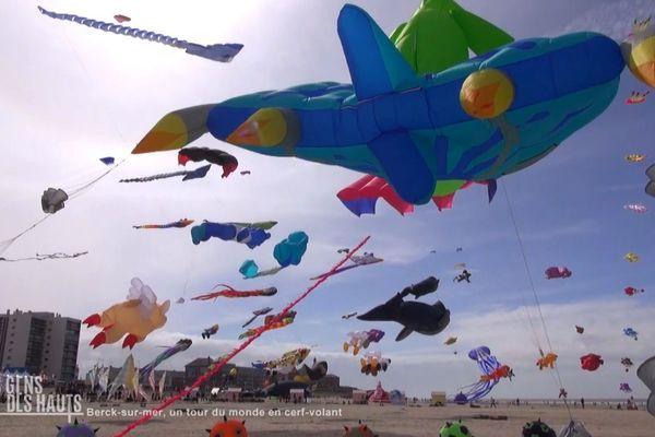 Berck-sur-Mer, un tour du monde en cerf-volant