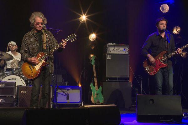 Paul Personne à la Luciole à Alençon juste avant son concert mercredi 9 octobre 2019.