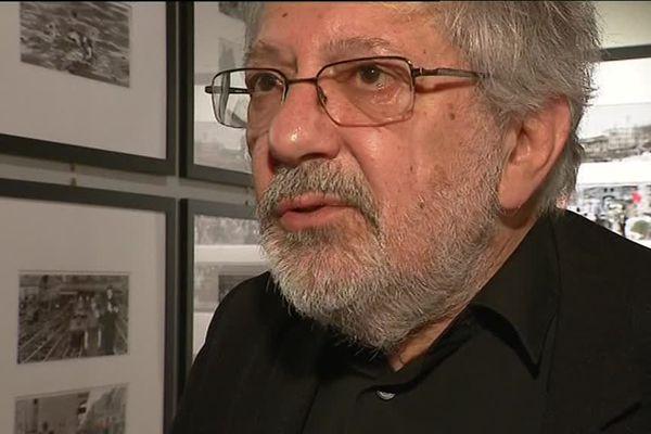Jacques Tardi, 71 ans, s'est beaucoup intéressé à la première guerre mondiale dans ses bandes dessinées.