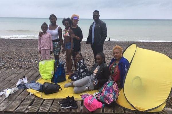 Grâce au PCF de l'Oise, des familles picardes ont pu s'évader sur la côte normande le temps d'une journée.