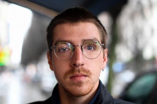 Jean-François Martin a perdu un oeil en 2016 pendant la manifestation contre la loi Travail.