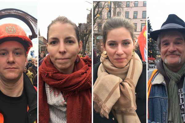 Un bûcheron, une orthophoniste, une enseignante et un contrôleur SNCF nous expliquent pourquoi ils sont contre la réforme des retraites.