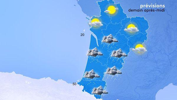 Attention ! Les cumuls de précipitations pourront atteindra 10 mm en 1 ou 2 heures.