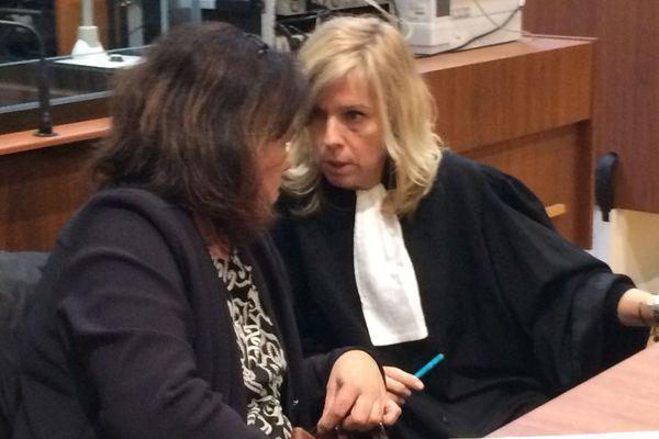 Rosa Da Cruz et son avocate au 3e jour d'audience devant les assises de la Corrèze