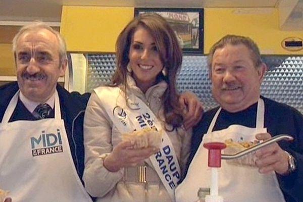 Sophie Garénaux, 2e Dauphine de Miss France, nouvelle ambassadrice du Nord Pas-de-Calais et de ses traditions culinaires.