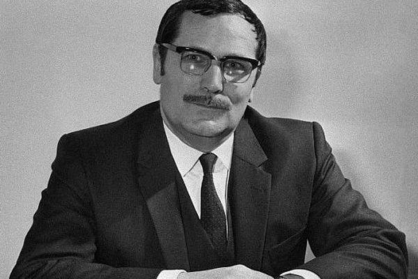 Louis Delamare, l'ambassadeur de France assassiné au Liban en 1981. Portrait non daté, archives