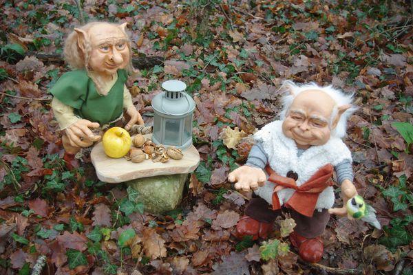 Ezias et Gustin, deux créatures imaginaires