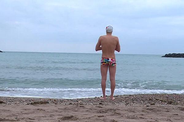 Bertrand Venturi est nageur de Sète en eau vive, les conditions de cette pratique sont extrêmes - 06/02/2017