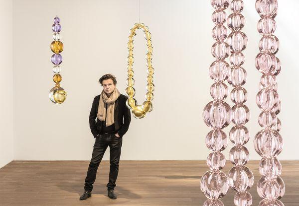 L'artiste sculpteur Jean-Michel Othoniel