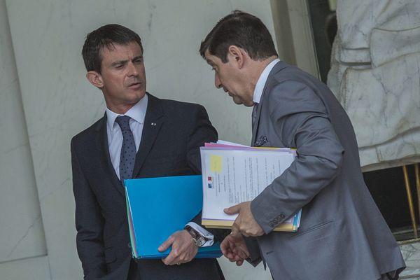 Manuel Valls et Patrick Kanner.