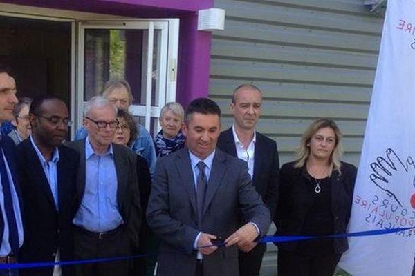 Antenne Secours Populaire à La Borie: inauguration, 9 avril 2014