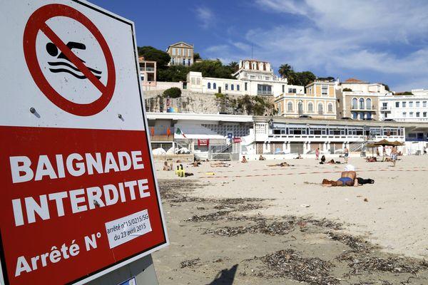 ILLUSTRATION de la plage du Prophète. ça vous donne envie de vous baigner ? Ben non !