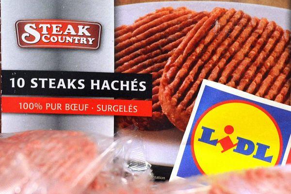 Les steaks contaminés avaient été commercialisés dans une enseigne Lidl.