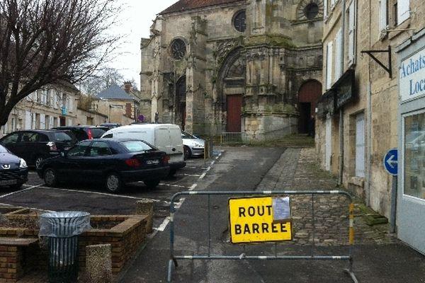 L'accès à l'église a été barré à toute personne étrangère à la famille de Cyril Genest