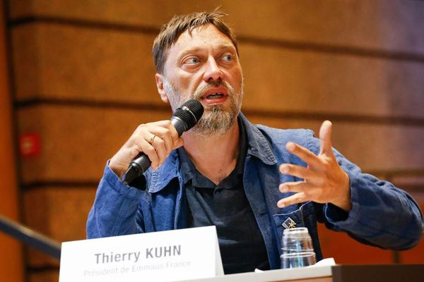 Thierry Kuhn, ancien pdt d'Emmaus France