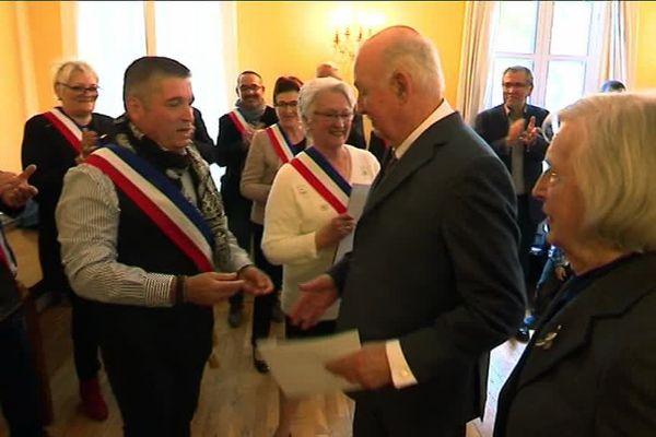 cérémonie de naturalisation à Lodève dans l'Hérault en mars 2019