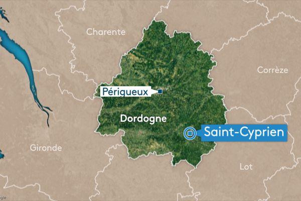 Ce samedi 13 février, un accident mortel est survenu à Saint-Cyprien, en Dordogne.