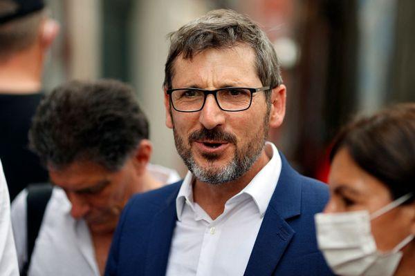 Matthieu Orphelin tête de liste des écologistes, photo prise le 28 juin 2020