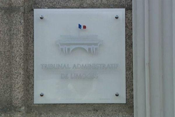 plaque du tribunal administratif de Limoges (photo d'illustration)