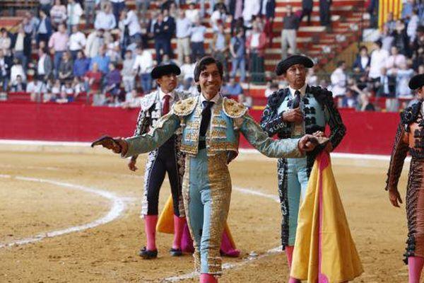 23 avril 2017. Deux oreilles pour Curro Díaz à saragosse