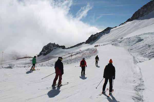 Le glacier de Tignes a ouvert ce samedi 16 octobre et fermera fin mai.