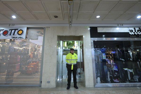 L'attentat de Bogota a eu lieu dans un centre commercial de la ville. Une bombe a explosé dans les toilettes pour femmes