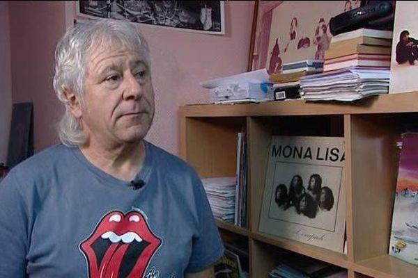 Francis Poulet, ancien batteur du groupe de rock Mona-Lisa